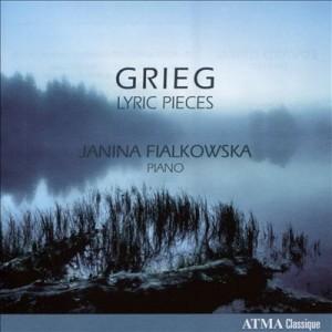 Grieg lyric pieces cover