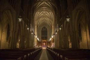 Duke University Chapel, where Stile Antico kicked off their US tour to critical acclaim